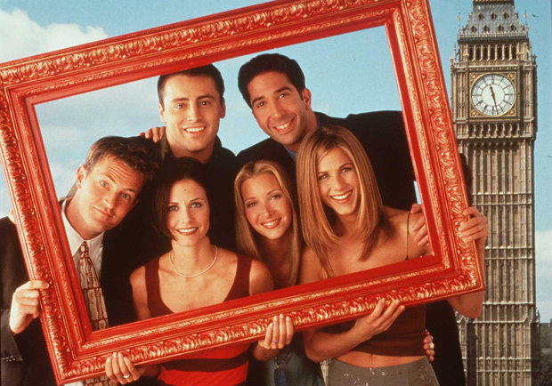 Friends on a frame