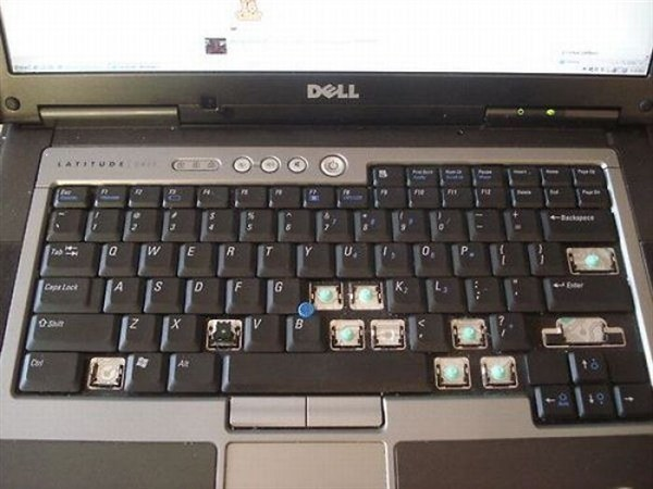 laptop hiányzó betűk